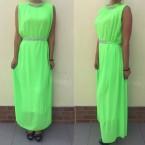 haljina zelena duga