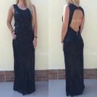 haljina crna duga