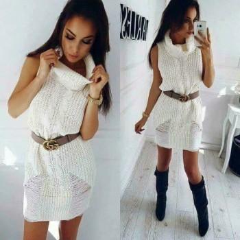 haljina pletena