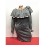 haljina siva