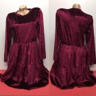 haljina bordo