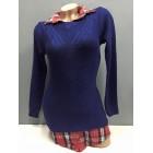 džemper sa košuljom